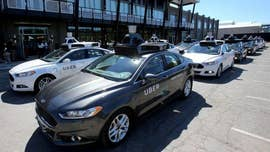 Police in a Phoenix suburb say one of Uber's self-driving vehicles has struck and killed a pedestrian.