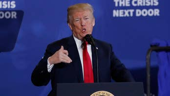President Trump addresses nation's opioid crisis at event in Manchester, New Hampshire.
