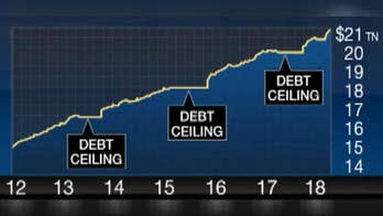 Some politicians say there is a limit to what the country can afford while some economists claim that the U.S. can increase its debt indefinitely; FBN's Deirdre Bolton reports.
