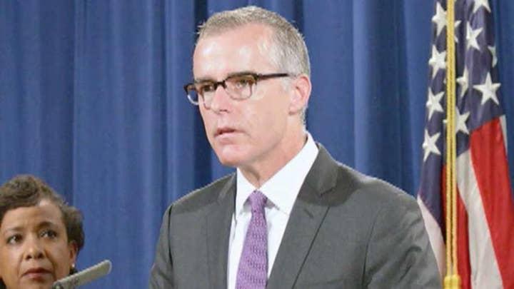 Special Counsel Robert Mueller obtains McCabe memos