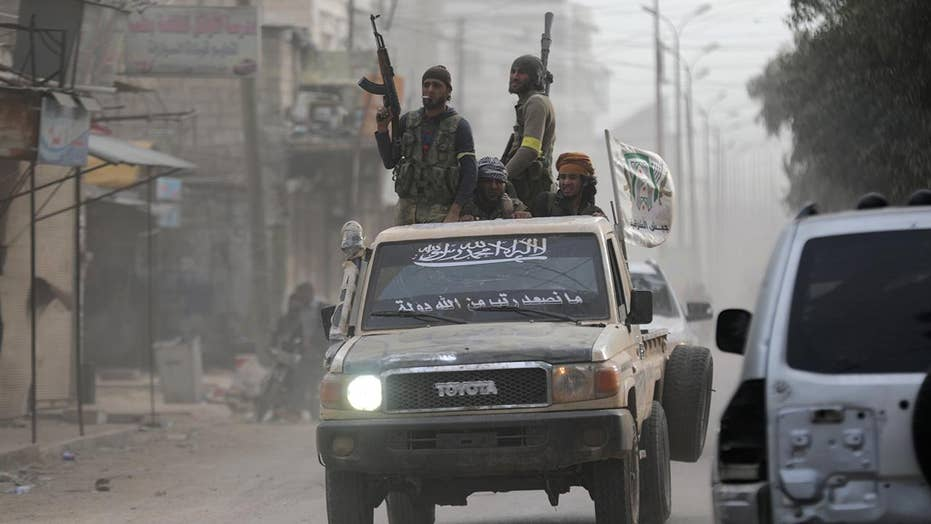 Turkish-backed Syrian army takes control of Afrin