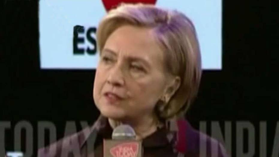 Hillary rips Trump voters