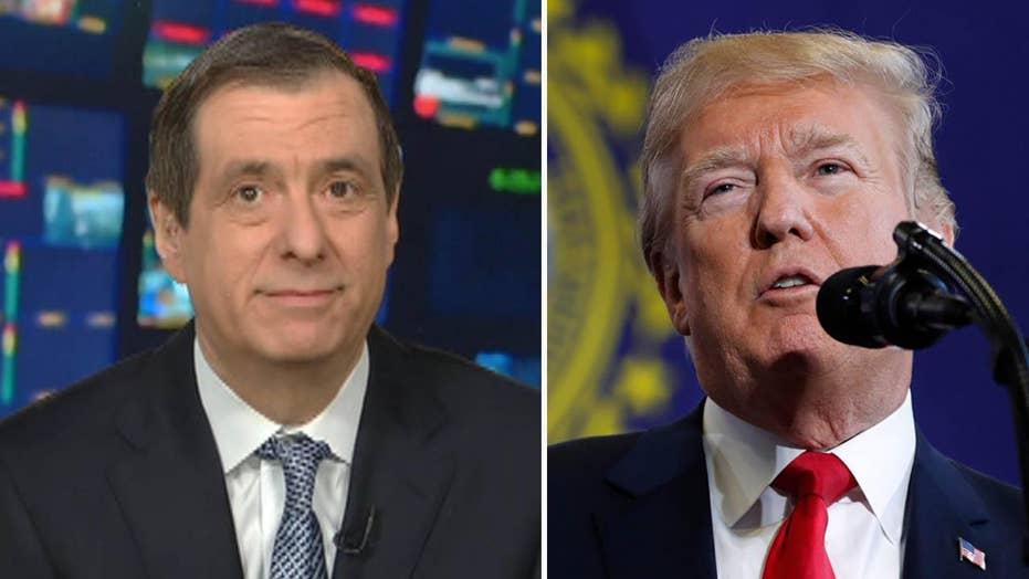 Kurtz: Trump breaks free of cautious aides