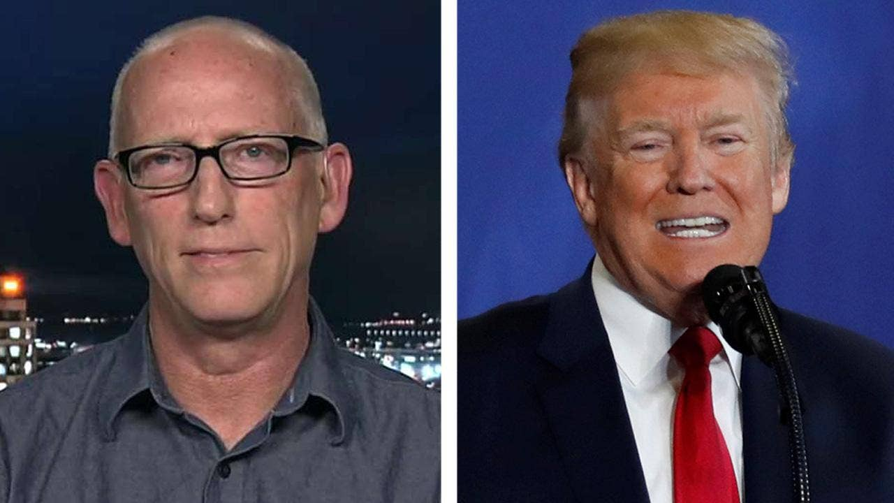 Joke's on Brennan for failing to find humor in Trump's remark, 'Dilbert' cartoonist says
