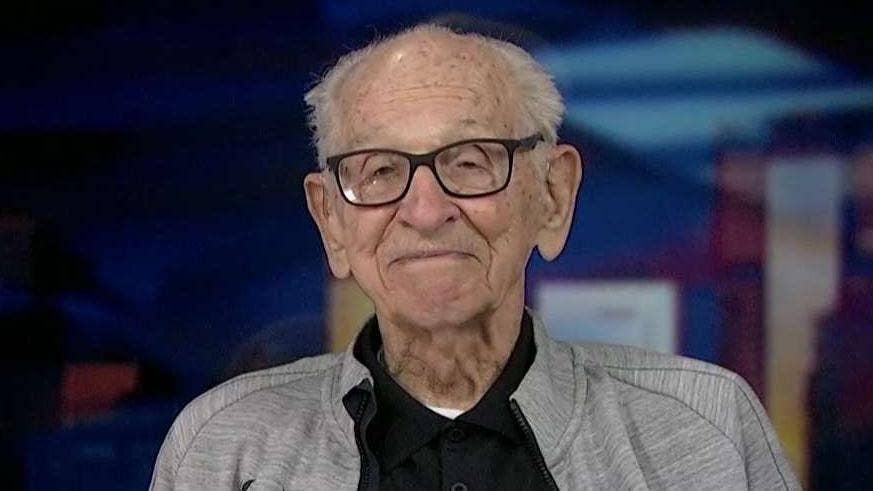 100-year-old runner, a World War II vet, sets 5 new world track records