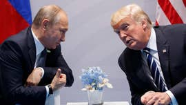 "President Trump blasted the ""crazed"" media Wednesday over its coverage of his congratulatory call to Russian President Vladimir Putin after winning his election, stating that ""getting along with Russia"" is a ""good thing,"" and that other U.S. president's didn't have a ""chemistry"" with Putin."