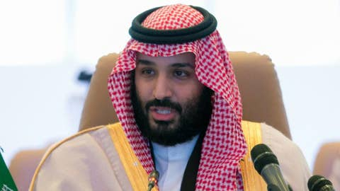 Saudi crown prince departs White House