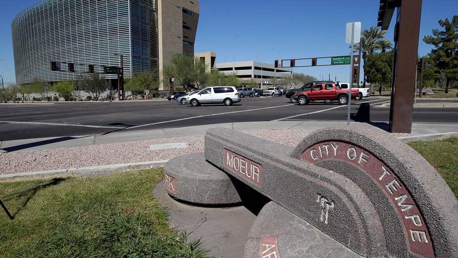 Self-driving Uber car kills pedestrian in Arizona. Adam Housley reports.