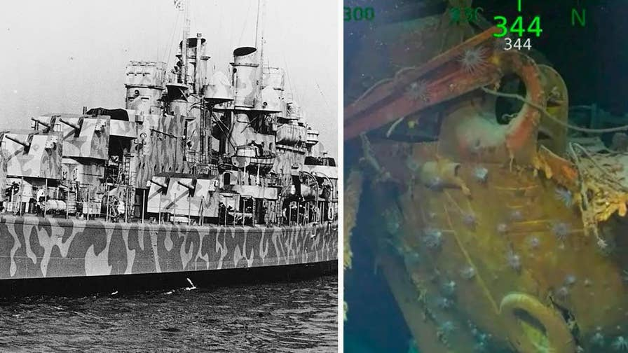 Wreckage from the sunken WWII military ship USS Juneau was discovered on March 17, 2018 off the coast of the Solomon Islands by philanthropist and Microsoft co-founder Paul Allen's expedition crew on the Research Vessel Petrel.