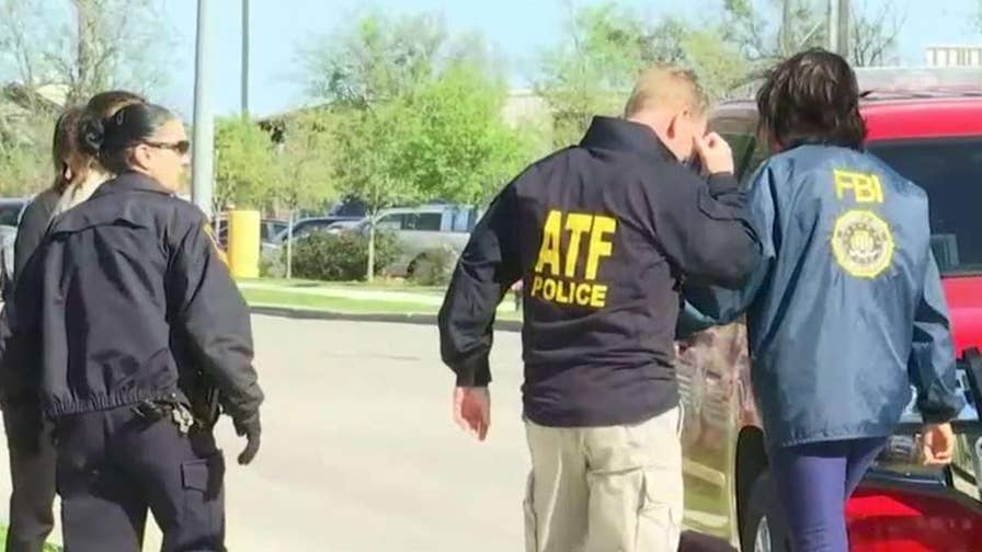 FBI believes packages at FedEx facility near San Antonio were destined for Austin; chief correspondent Jonathan Hunt reports.