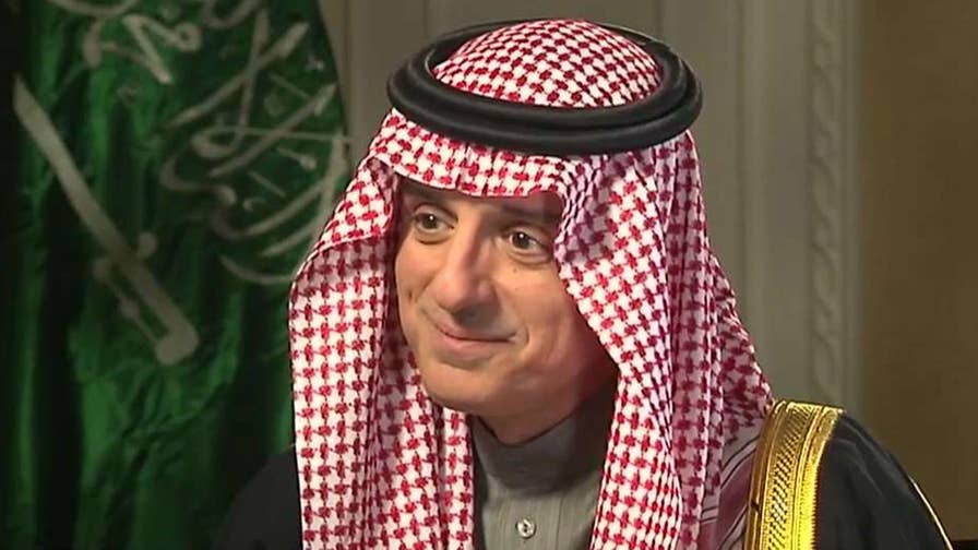 Abdel al-Jubeir on the Saudi crown prince's relationship with President Trump, U.S. support of Saudi-led bombing campaign in Yemen.