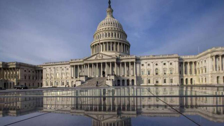 Lawmakers scurry to get spending bill ready; chief congressional correspondent Mike Emanuel reports from Capitol Hill.