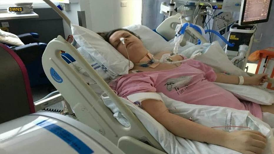 21-year-old fights for her life after doctors say she had tonsillitis