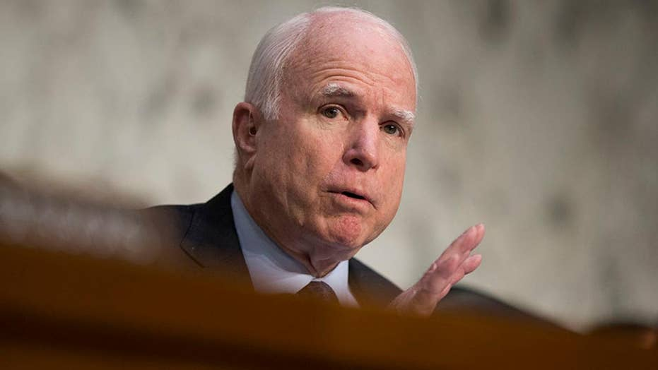 McCain slams Trump congratulating Putin for re-election