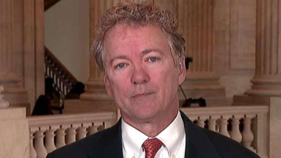 Sen. Paul: Politicization of Russia investigation concerning