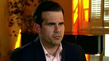 Gov. Ricardo Rossello is frustrated, says Hurricane Maria disaster funds are taking too long to arrive; Bryan Llenas reports from Old San Juan.