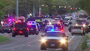 At least one man injured at Goodwill store Tuesday night in latest of string of explosions in Texas. #Tucker