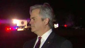 Mayor Steve Adler talks about his gratitude to law enforcement.