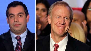 Republican Governor Bruce Rauner ekes out victory in Illinois' gubernatorial primary race. Politics editor at National Journal Josh Kraushaar reacts on 'The Daily Briefing' and offers insight into what he forecasts will be the most expensive gubernatorial race of all time.