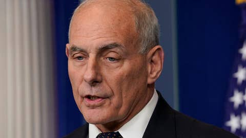 John Kelly 'frustrated' by leak of briefing memo leak