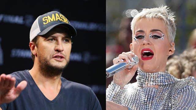 'American Idol' judge Luke Bryan defends Katy Perry's contestant kiss