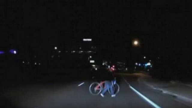 Dashcam catches the moment self-driving Uber hits pedestrian