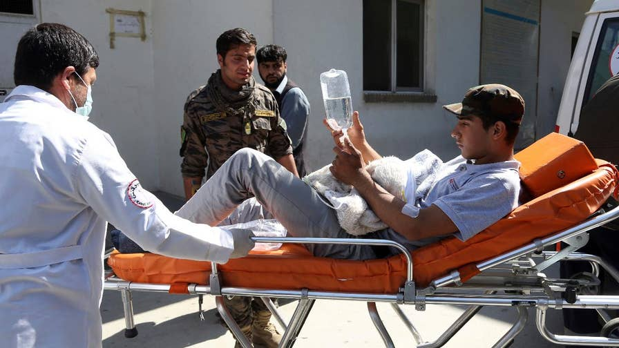 ISIS claims responsibility for the attack in Afghanistan. Benjamin Hall reports.