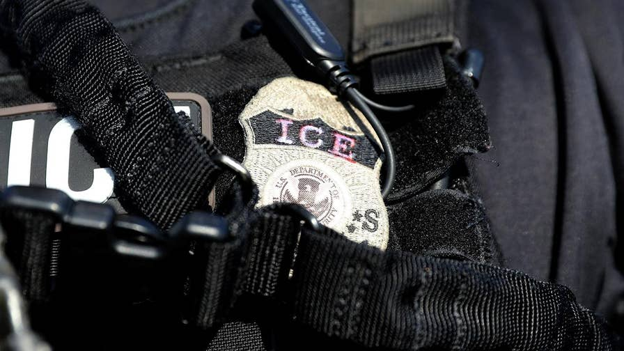 ICE officials say that three illegal immigrants targeted at raids earlier this month have been arrested for new crimes; Claudia Cowan reports.