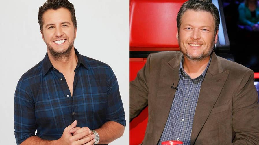 """To combat """"The Voice's"""" judge Blake Shelton, ABC pegged country crooner Luke Bryan for """"American Idol."""" If ratings are any indication of who the public likes more, """"Idol"""" has a problem on its hands."""