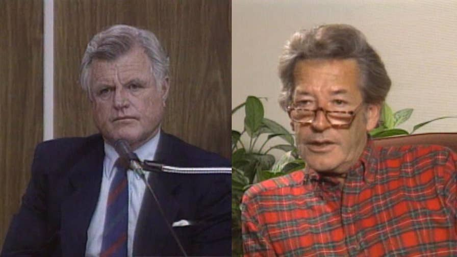 A Current Affair's Steve Dunleavy is interviewed about a book that claimed Sen. Ted Kennedy was a drug user.