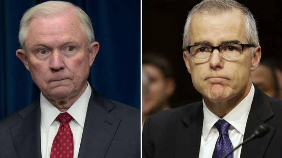 Report: McCabe authorized FBI probe of Jeff Sessions