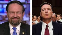 The former FBI director James Comey prepares for another big moment in the spotlight; he is weeks away from a media tour to promote his tell-all book. Dr. Sebastian Gorka and Larry Elder react on 'Hannity.'