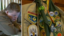 The father of a boy who has Down syndrome filed a lawsuit last week against the Boy Scouts of America after the group allegedly blocked his son from becoming an Eagle Scout and revoked his merit badges that he worked two years to earn.