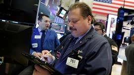 Losses accelerated for U.S. stocks amid a day of sharp volatility after President Donald Trump unveiled his tariffs on China and the departure of his chief legal eagle John Dowd.