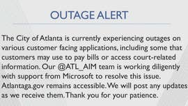 The City of Atlanta has been targeted in a ransomware attack that has impacted a number of its systems.