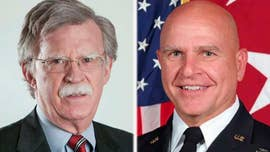 President Donald Trump announced Thursday that former United Nations Amb. John Bolton will replace Gen. H.R. McMaster as his national security adviser effective April 9 -- the latest in a growing list of White House staff shakeups over the past year.