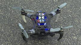 "Imagine thousands of ""talking"" drones, able to act as one to perform high-level rescue missions in the face of imminent danger -- sounds like a scene straight out of a Hollywood movie, but in a University of Pennsylvania lab, engineers have produced just that."