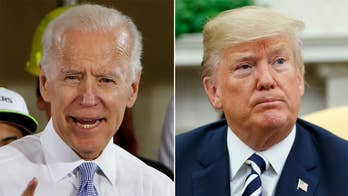 Feud between former Vice President Joe Biden and President Trump escalates; reaction on 'Outnumbered.'
