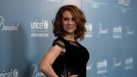 Alyssa Milano's #TimesUp beef with Wendy's
