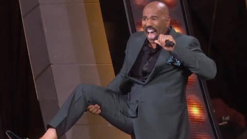 Steve Harvey on winning over toughest judges