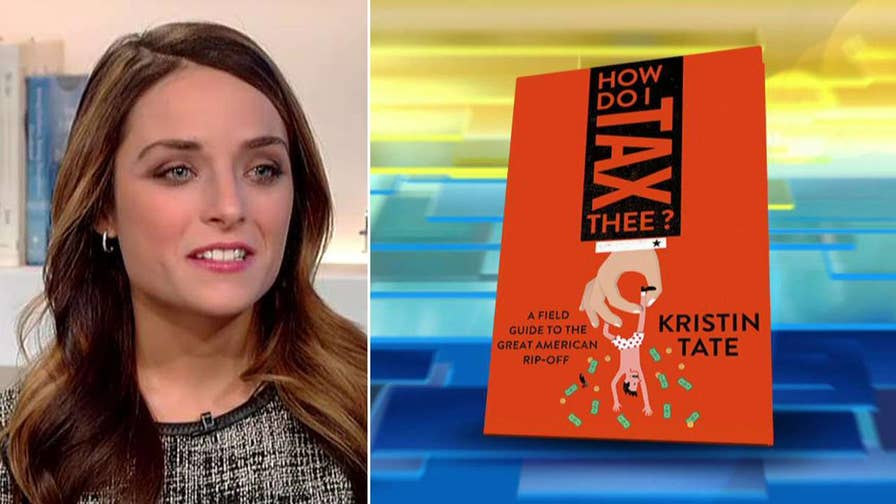 Kristin Tate's 'How Do I Tax Thee?' exposes the government shakedown.