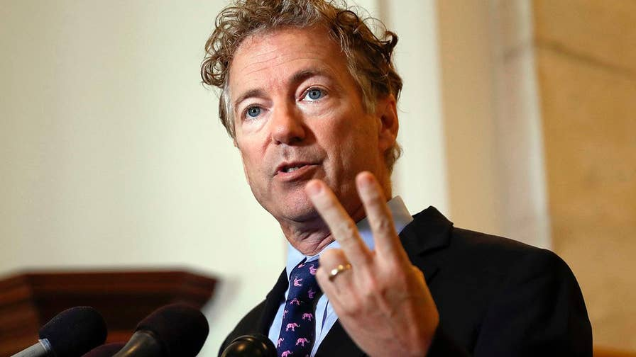 All eyes on Sen. Rand Paul as the House approves a bipartisan $1.3 trillion measure upping spending to the military and a host of domestic projects; analysis from The Hill's Jesse Byrnes.