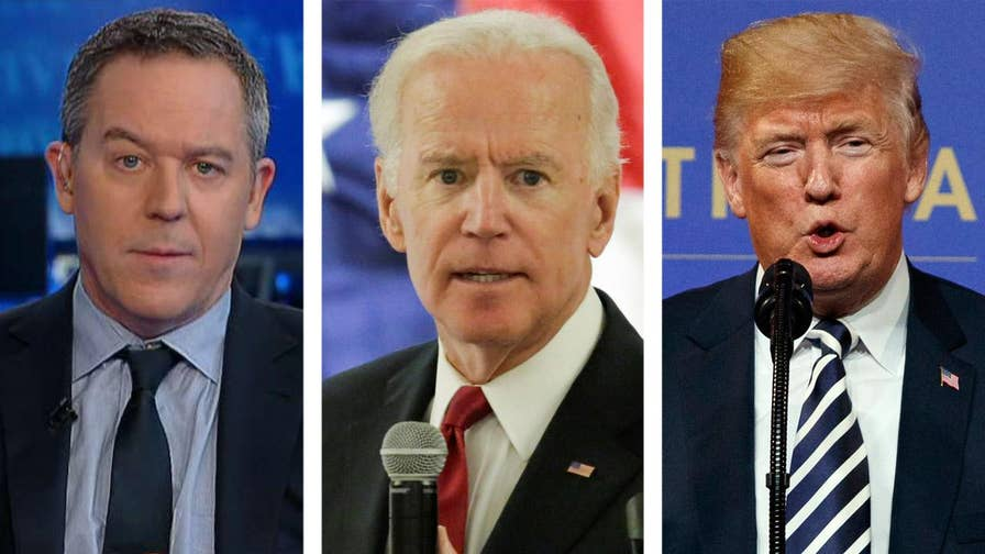 Former Vice President Biden and President Trump exchange insults amid speculation Biden could challenge Trump in 2020.