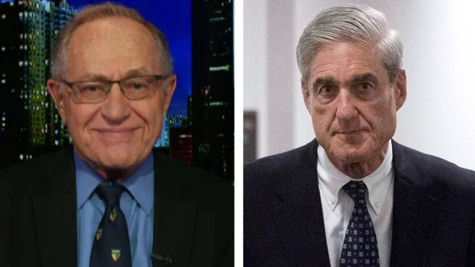 Dershowitz: Special counsel never should have been appointed