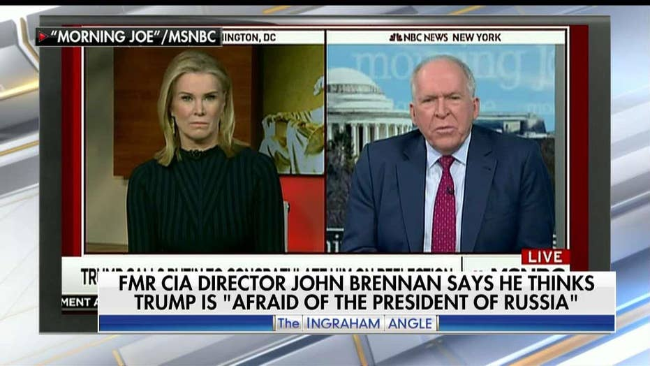 Strassel rips Brennan for 'spewing innuendo' about Trump-Russia.
