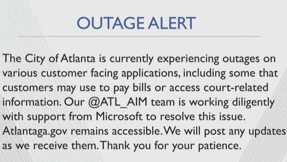 Atlanta facing outages on customer-facing applications