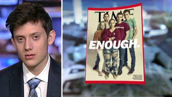 Florida school shooting survivor Kyle Kashuv left out of Time cover.
