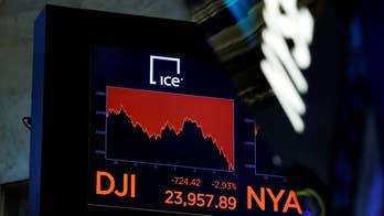 Dow suffers worst week since January 2016