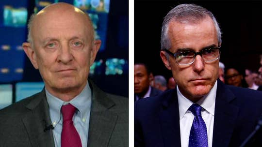 The former FBI deputy director defends his actions and criticizes Trump in editorial after being fired; former CIA director James Woolsey shares his perspective on 'The Story.'