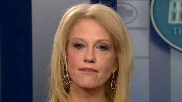 Kellyanne Conway responds to White House staff shake-ups